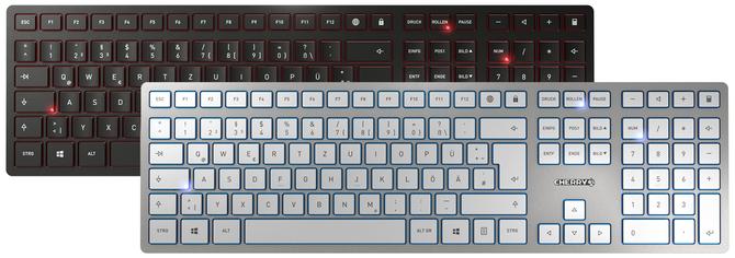 Cherry KC 6000 Slim - Bardzo smukła klawiatura membranowa [1]