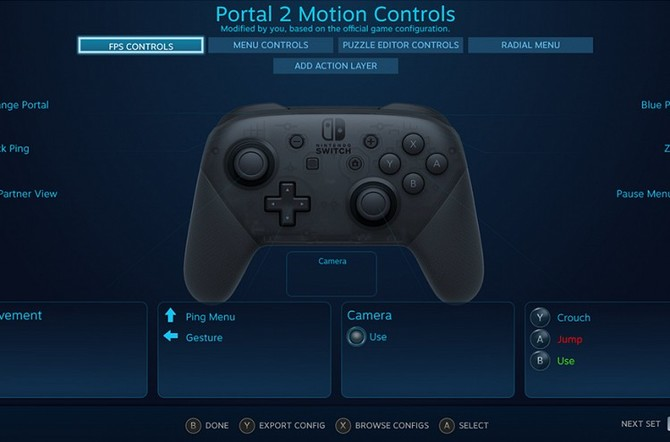 Kontroler od Switch Pro teraz także do gry na Steamie [2]