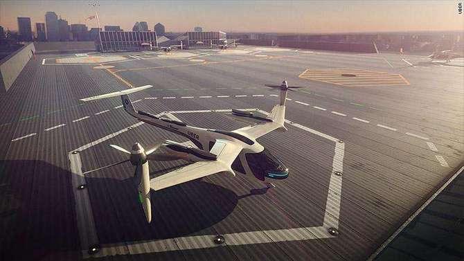 Uber w powietrzu w 2020r.: koncept latającego taxi już jest  [1]