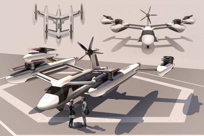 Uber w powietrzu w 2020r.: koncept latającego taxi już jest  [2]