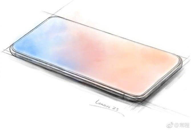 Lenovo Z5 - szykuje się pierwszy w pełni bezramkowy smartfon [1]