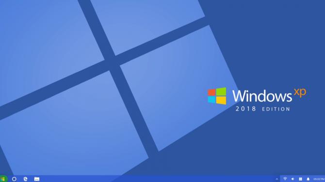Jak wyglądałby Windows XP w 2018 roku? Oto pewna koncepcja [1]