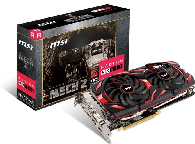 MSI szykuje karty Radeon RX 500 w nowej odsłonie Mech 2 [2]