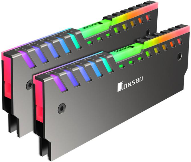 Jonsbo NC-2 - Radiatory z RGB LED dla modułów RAM [1]