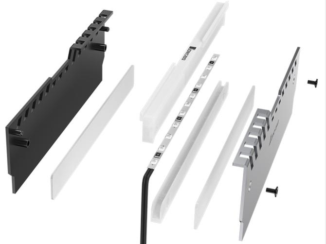 Jonsbo NC-2 - Radiatory z RGB LED dla modułów RAM [3]
