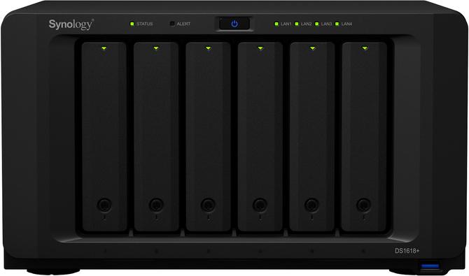 Synology DS1618+ - sześciozatokowy NAS z procesorem Intela [1]
