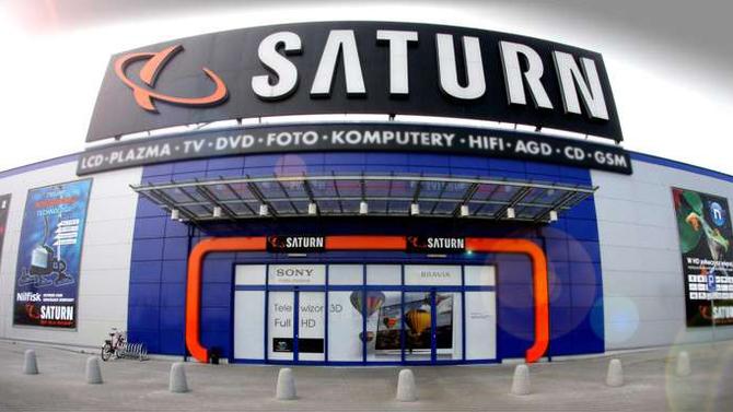 To już koniec sklepu Saturn. Jego miejsce zajmie Media Markt [1]