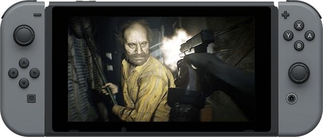 Resident Evil 7 w chmurze na ekranach Nintendo Switch [2]