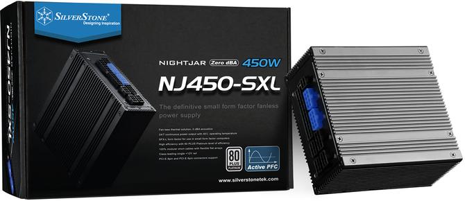SilverStone Nightjar NJ450-SXL - Niewielki, pasywny zasilacz [1]