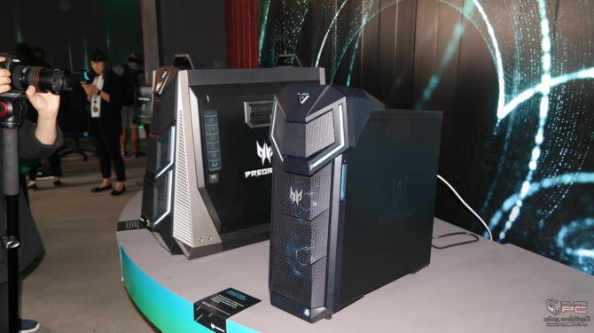 Next@acer: Prezentacja desktopów dla graczy oraz monitorów [1]