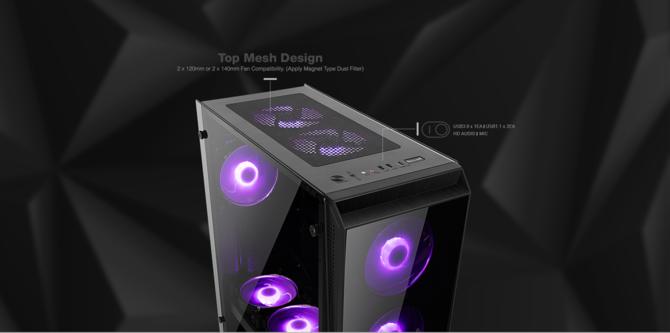 X2 prezentuje serie obudów komputerowych z hartowanym szkłem [5]