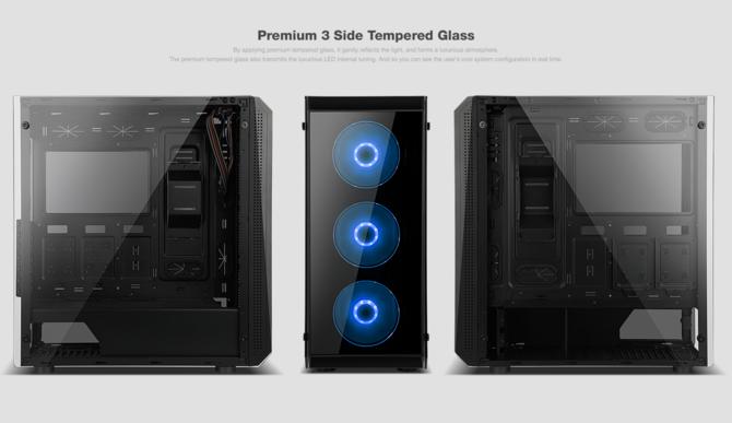 X2 prezentuje serie obudów komputerowych z hartowanym szkłem [6]