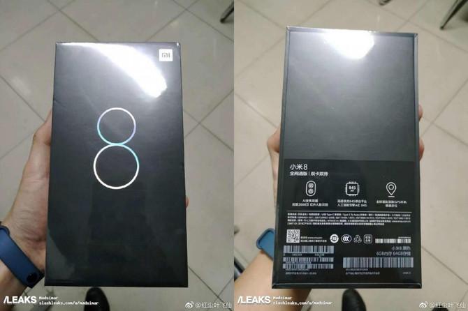 Xiaomi Mi 8 - zdjęcia pudełka i garść nowych informacji [1]