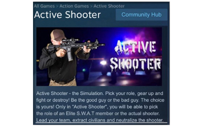 Active Shooter: Steam usunął symulator szkolnej strzelaniny [3]