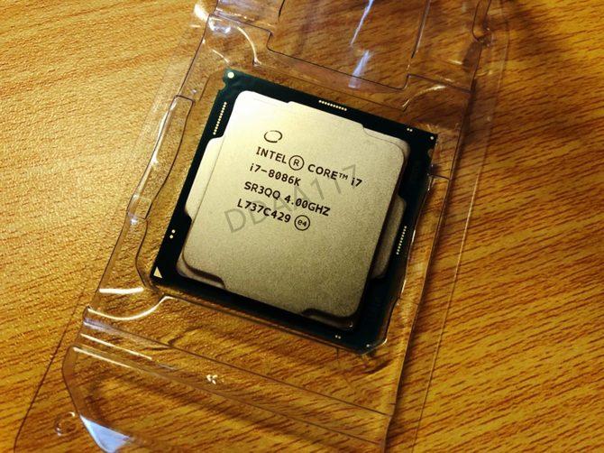 Intel Core i7-8086K trafia do sklepów w wysokich cenach [1]