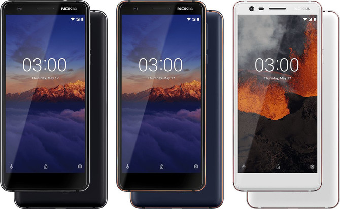 Nokia 5.1, 3.1 i 2.1 - nowe smartfony za nieduże pieniądze [2]