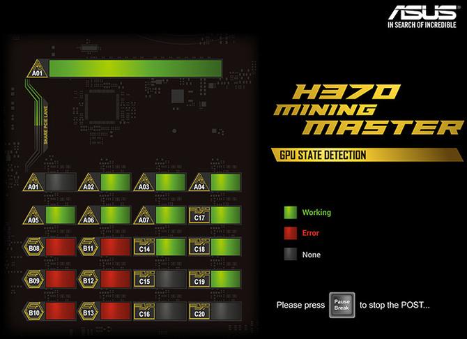 ASUS H370 Mining Master Płyta główna dla 20 kart graficznych [3]
