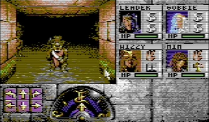 Eye of the Beholder: szykuje się port dla Commodore 64 [1]