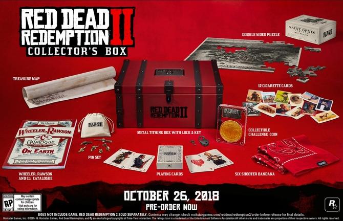 Red Dead Redemption II: znamy zawartość specjalnych edycji [6]