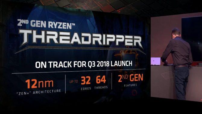 AMD Threadripper drugiej generacji -Informacje o procesorach [2]
