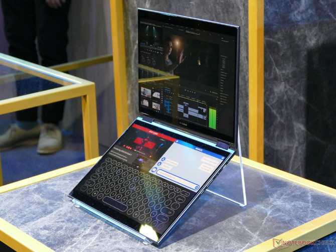 ASUS Project Precog - prototyp notebooka z dwoma ekranami [1]