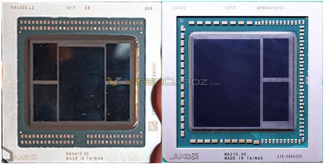 Układ Vega 7 nm jest około 40 procent mniejszy od Vegi 14 nm [2]