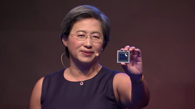 Układ Vega 7 nm jest około 40 procent mniejszy od Vegi 14 nm [3]