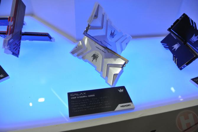 Computex 2018: Galax HOF chwali się modułami RAM 5000 MHz [3]
