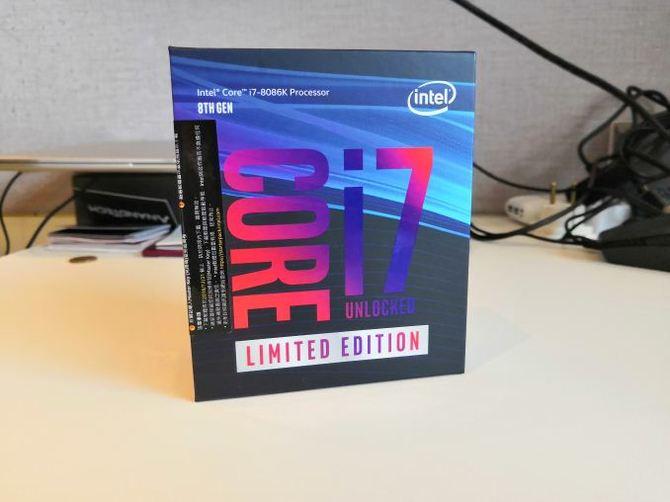 Intel Core i7-8086K - Pierwsze wyniki wydajności procesora [1]