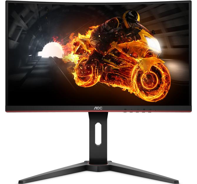 AOC G1 - Seria tanich, zakrzywionych monitorów dla graczy [1]