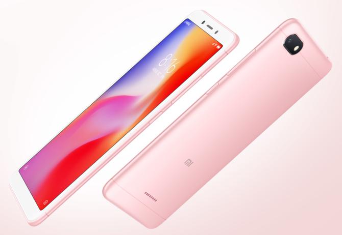 Xiaomi Redmi 6 i Redmi 6A - nowe smartfony dla oszczędnych [1]