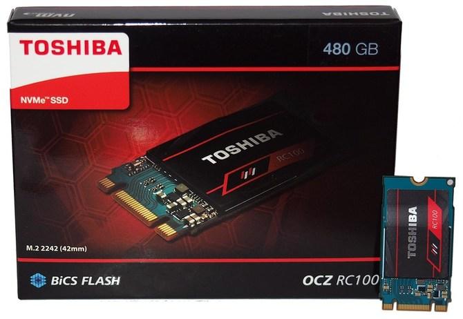 Toshiba OCZ RC100 - Miniaturowe, budżetowe nośniki SSD NVMe [1]
