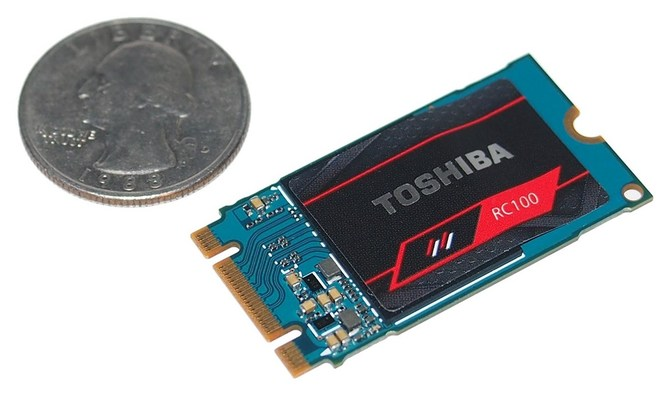 Toshiba OCZ RC100 - Miniaturowe, budżetowe nośniki SSD NVMe [2]