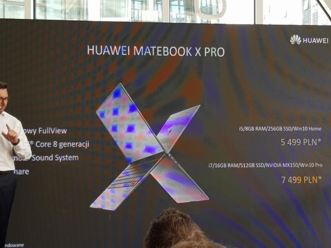 Huawei Matebook X Pro debiutuje w Polsce - znamy ceny [10]