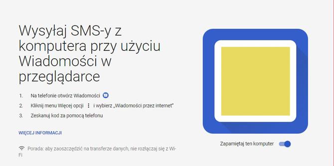 Zarządzaj SMSami z komputera: nowe rozwiązanie od Google [1]