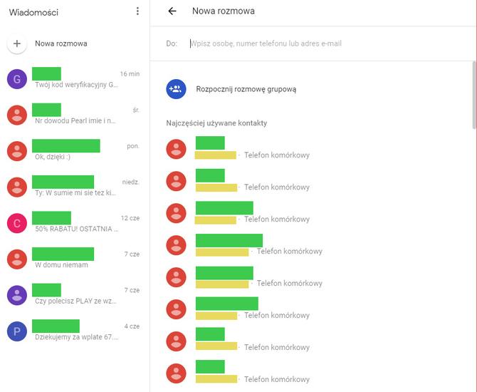 Zarządzaj SMSami z komputera: nowe rozwiązanie od Google [2]