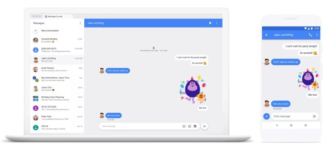 Zarządzaj SMSami z komputera: nowe rozwiązanie od Google [3]