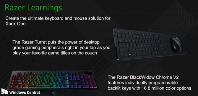 Razer może pracować nad myszami i klawiaturami do Xboksa [2]