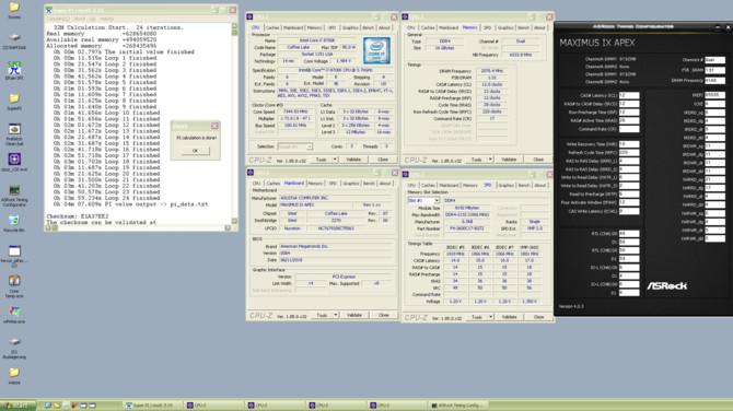 Intel Core i7-8700K podkręcony do 7,34 GHz na płycie Z270 [1]