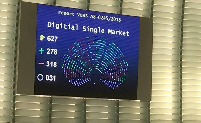 Acta 2 Nie Wejdzie W Zycie Parlament Odrzucil Dyrektywe Purepc Pl