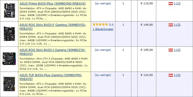 Pierwsze płyty AMD B450 zaczynają się pojawiać w sklepach [2]