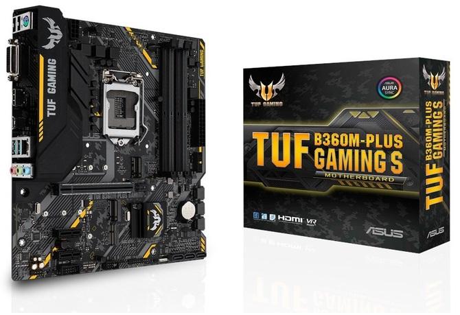 ASUS TUF B360M-Plus Gaming S - Kolejna płyta dla Coffee Lake [2]