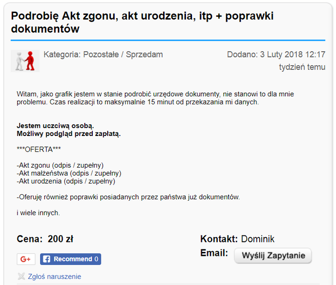 Polski substytut Darknetu? Kupisz tam nielegalne rzeczy, ale [1]