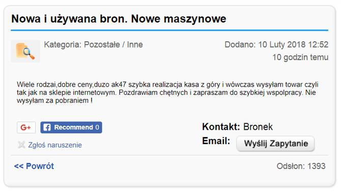 Polski substytut Darknetu? Kupisz tam nielegalne rzeczy, ale [3]