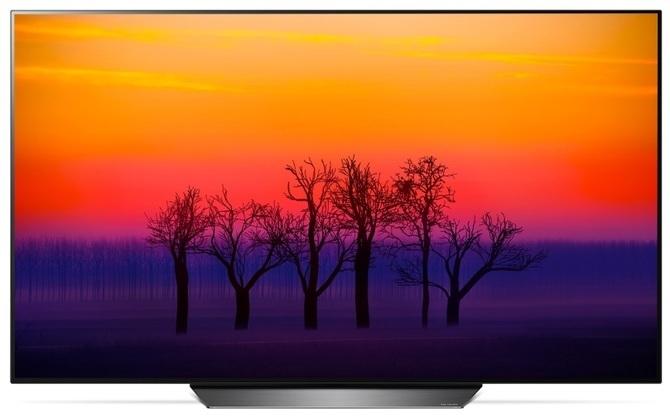 Telewizory LG OLED spaliły się na targach przez... wypalenia [1]
