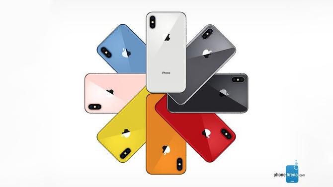 Więcej kolorów wkroczy niebawem w świat obudów iPhone'ów [1]