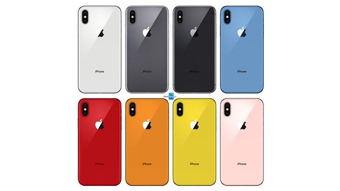 Więcej kolorów wkroczy niebawem w świat obudów iPhone'ów [2]