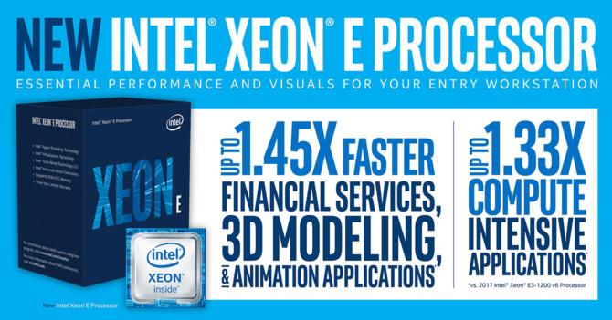 Intel Xeon E-2100 - nowa rodzina procesorów serwerowych [1]