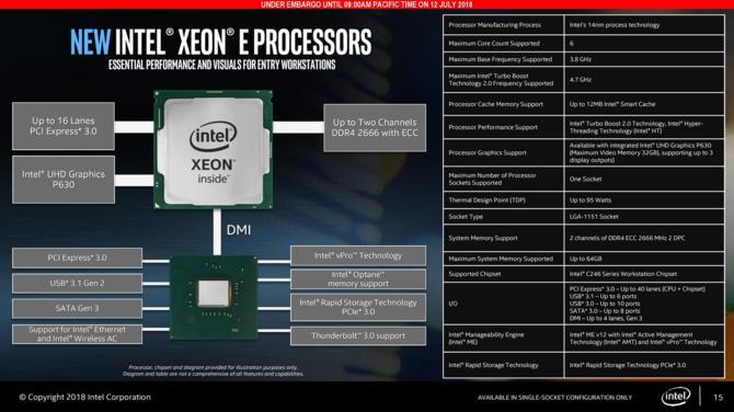 Intel Xeon E-2100 - nowa rodzina procesorów serwerowych [3]