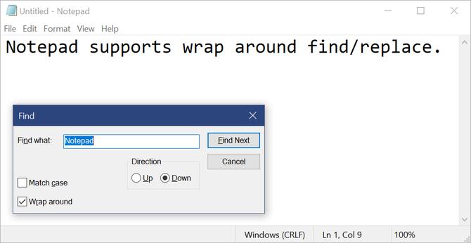 Microsoft po wielu latach doda do Notatnika nowe funkcje [2]